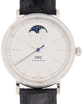 IWC Portofino Automatic Silver Diamond Dial Men's Watch
