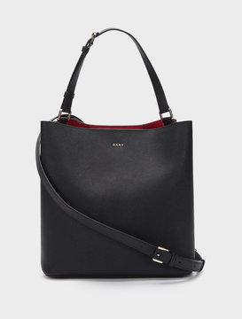 Saffiano Bucket Bag