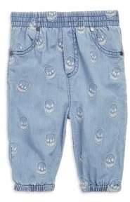 Stella McCartney Baby's Pipkin Embroidered Chambray Cotton Pants