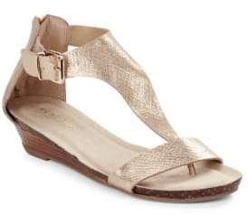 Kenneth Cole Reaction Great Gal Metallic Thong Sandals