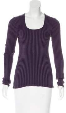 Henri Bendel Silk Knit Sweater