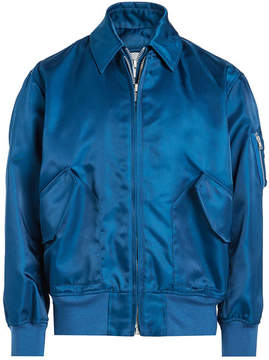 Calvin Klein Satin Bomber Jacket