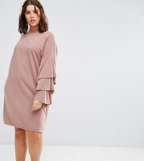 Alice & You Extreme Tiered Ruffle Sweater Dress