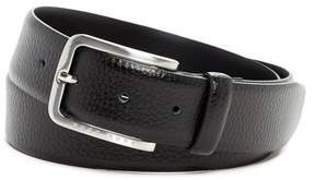 HUGO BOSS Pebbled Leather Belt