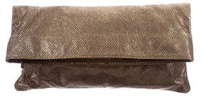 Elie Tahari Embossed Flap Clutch w/ Tags