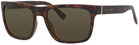 Safilo USA BOSS 0727 Wayfarer Sunglasses