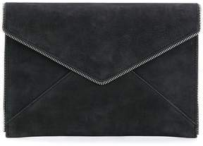 Rebecca Minkoff envelope zipper trim wallet