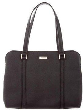 Kate Spade Large Newbury Lane Loden Bag - BLACK - STYLE