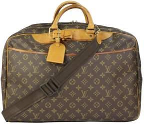 Louis Vuitton Deauville cloth travel bag