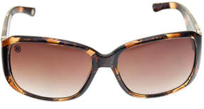 Nicole Miller Nicole By Full Frame Rectangular Sunglasses-Womens