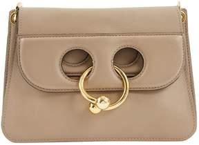 J.W.Anderson Pierce Beige Leather Handbag