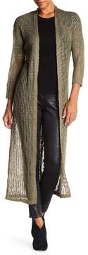 Angie Knit Print Duster Cardigan