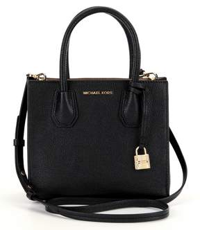 MICHAEL Michael Kors Studio Mercer Medium Messenger Bag - BLACK - STYLE