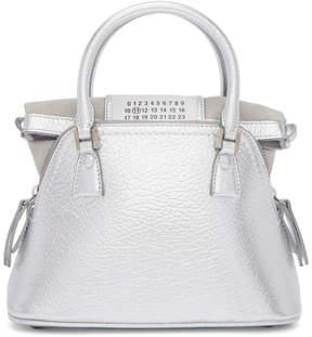 Maison Margiela Silver Mini 5AC Bag