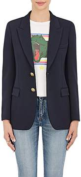 Saint Laurent Women's Wool Jersey Blazer
