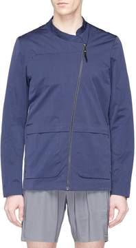 Falke Sports Asymmetric zip windbreaker jacket