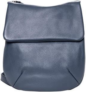 Christopher Kon Denim Blue La Dos Convertible Leather Crossbody Bag