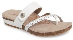 Aetrex Women's 'Lena' Thong Sandal