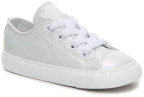 Converse Girls Chuck Taylor All Star Leather Toddler Sneaker