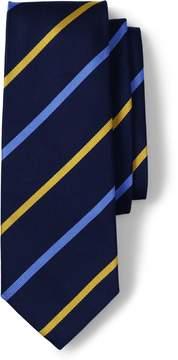 Lands' End Lands'end Men's Long Regimental Stripe Necktie