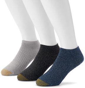 Gold Toe GOLDTOE Men's GOLDTOE 3-pack Arch 360 Summit Quarter Socks