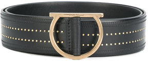 Salvatore Ferragamo studded waist belt