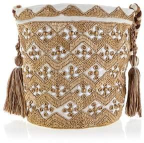 Sam Edelman Abela Beaded Bucket Bag