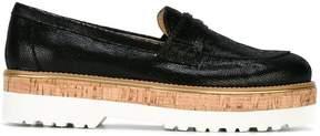 Hogan platform loafers