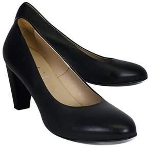 AGL Black Leather Heels
