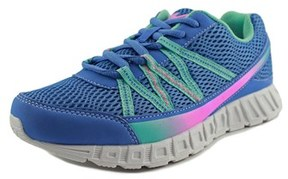 Fila Flicker Youth Round Toe Synthetic Blue Running Shoe.
