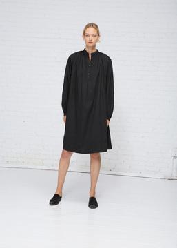 Black Crane Black Tulip Dress