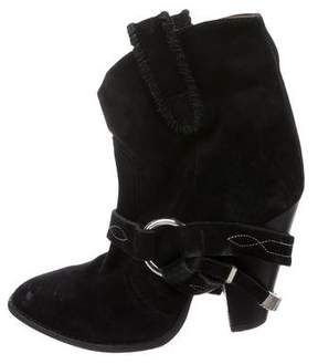 Etoile Isabel Marant Suede Pointed-Toe Boots