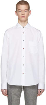 Paul Smith SSENSE Exclusive White Charm Button Shirt