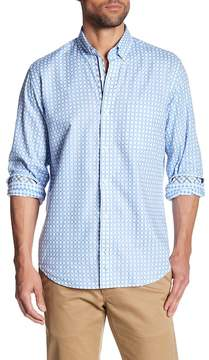 Tailorbyrd Long Sleeve Checkered Trim Fit Woven Shirt (Big & Tall Available)