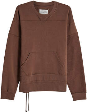 Maison Margiela Cotton Patchwork Sweatshirt