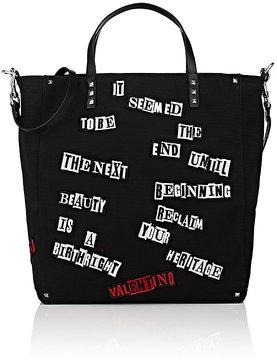 Valentino Men's Shopper Tote Bag