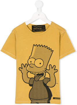 Finger In The Nose Bart print T-shirt