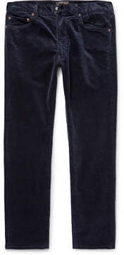 Beams Slim-Fit Cotton-Blend Corduroy Trousers