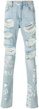 Ih Nom Uh Nit denim destroyed jeans