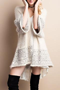 Easel Knit Sweater Cardigan