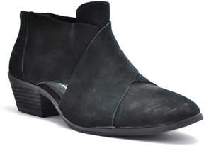 Very Volatile Black Nelisa Leather Bootie