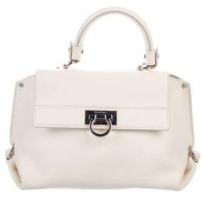 Salvatore Ferragamo Leather Satchel Bag