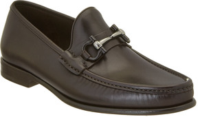 Salvatore Ferragamo Mason Gancio Bit Leather Loafer