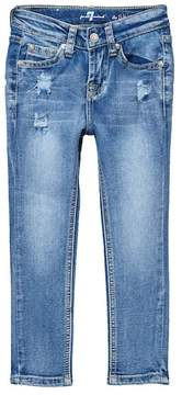 7 For All Mankind The Skinny Ultra Flex Jeans (Little Girls)