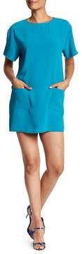 Amanda Uprichard Oliver Front Pocket Mini Dress
