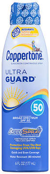 Coppertone Ultra Guard Sunscreen Continuous Spray, SPF 50