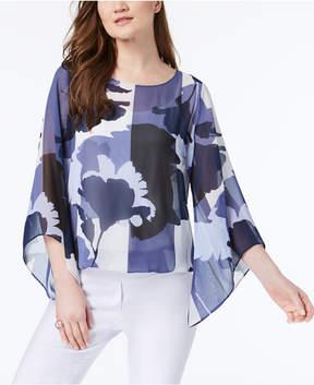 Alfani Angel-Sleeve Top, Created for Macys