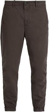 C.P. Company Tapered-leg stretch cotton-blend trousers