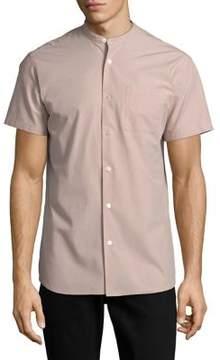 Selected Short Sleeve Button-Down Shirt