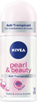 Nivea Pearl & Beauty Roll On Deodorant by 50ml)